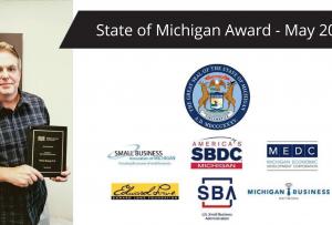 State of Michigan rising business award